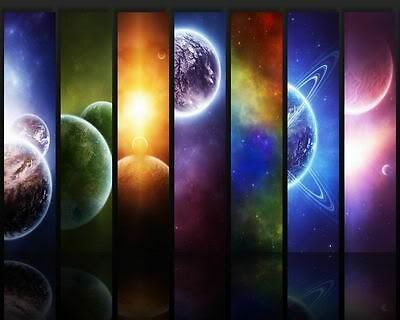 The Universe Is Full Of Planets Art Poster Print New