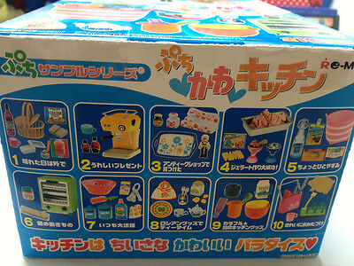 Doll Re-ment -  European Kawaii Kitchen toaster, detergent, teapot and more x 10