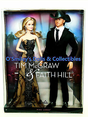 2011 TIM McGRAW & FAITH HILL COUNTRY Singer/Celebrity GIFT SET Barbie_T7904_NRFB