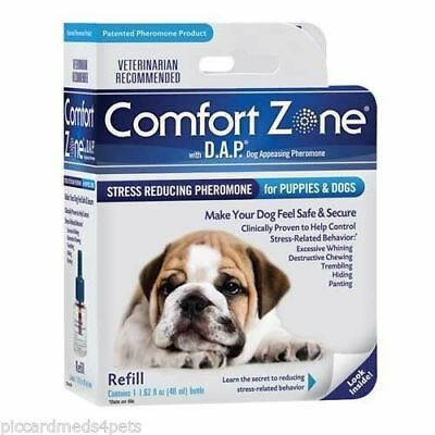 Comfort Zone 48ml DAP  Refill for Dogs Stress Reducer Barking Urination