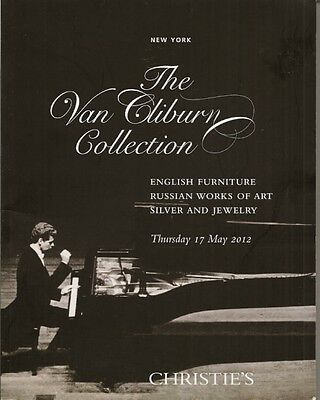 CHRISTIE'S Van Cliburn Collection Russian Work Art Silver Jewelry Furniture Cat