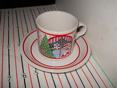 EPOCH TWAS THE NIGHT BEFORE CHRISTMAS CUP AND SAUCER