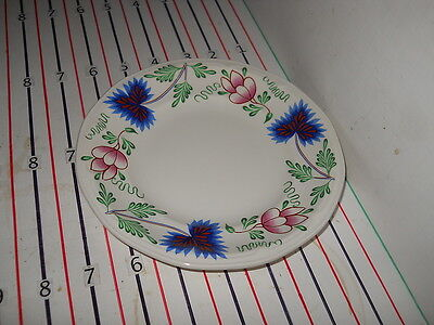 IROQOUIS GREENFIELD VILLAGE BREAD PLATE 7""