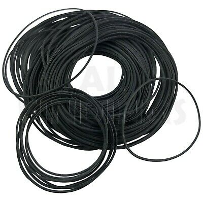 14-30mm 100 Flat Gaskets 0 Rings seal rubber washers for watches assorted