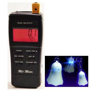 NEW! Mel Meter 8704R EMF 3 in 1 GHOST HUNTING Equipment Paranormal detector