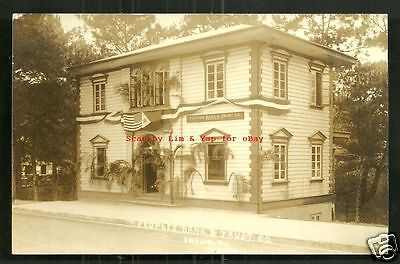 Baguio rppc Peoples Bank & Trust Co. Luzon Philippines 20s