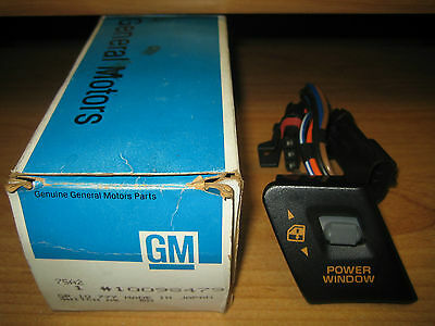 NOS GM 1990-1991 Chevrolet Corvette Power Window Switch