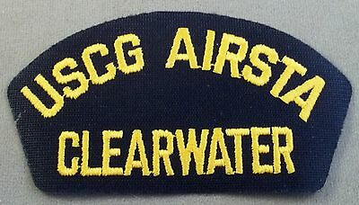 US Coast Guard Cap Patch Air Station Clearwater