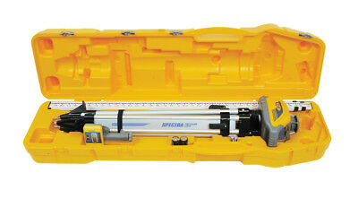 New Spectra Precision LL100N-2 Laser Level Kit in a Case - Inch Scale