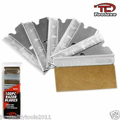 200pc HEAVY DUTY SINGLE EDGE RAZOR BLADES EXTRA SHARP FITS KNIVES AND SCRAPERS