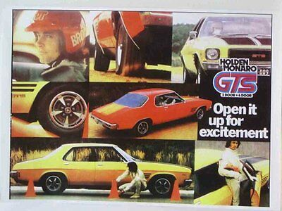 Holden Monaro GTS Metal Reproduction Sign 951