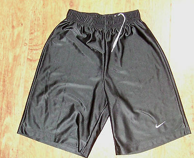 Nike Black and White Dazzle Youth Athletic Shorts sz S
