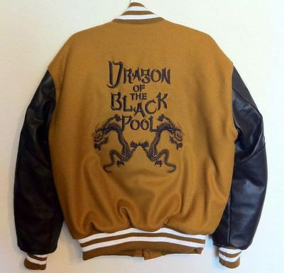 Big Trouble In Little China Letterman Jacket - Dragon Of The Black Pool S - 2Xl
