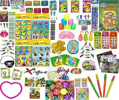 180 Party Bag Fillers,100 Toys,80 Tattoos,School PTA,Loot,Goody,Prizes,Rewards