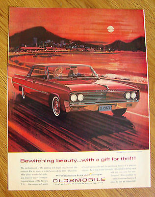 1963 Oldsmobile Dynamic 88 Ad  Bewitching Beauty
