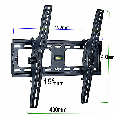 LCD LED Tilting TV Mount 23 32 40 42 46 48 50 52 55 Inch Wall Bracket 3D