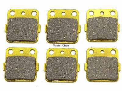 Front Rear Brake Pads Brakes For Yamaha YFM 350 660 Raptor Top Free Shipping