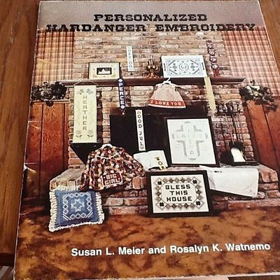 Personalized Hardanger Embroidery Meier Watnemo 31 Pages Cross Doilies Home RARE