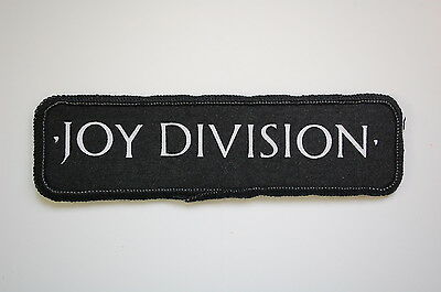Joy Division Sewn Patch (SP1177) The Cure New Order The Smiths Rock Goth
