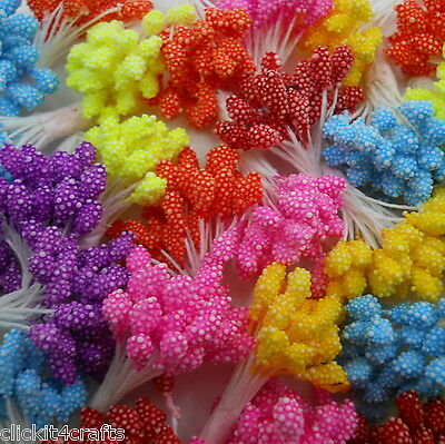 1000 Head Stamens scrapbook cards party favour decor flower craft supply ST1-427