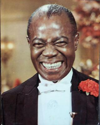 Great Portrait LOUIS ARMSTRONG in Hello Dolly ,lc519