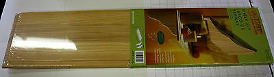 """SOLID PINE WOODEN WALL SHELF KIT 7 1/2"""" X 23"""" NATURAL WOOD READY TO FINISH"""