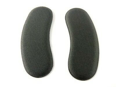 2 Pairs Extra Sticky Fabric Shoe Heel Inserts Insoles Pads Cushion Grips Strong
