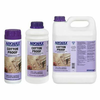 Nikwax Cotton Proof Wash-In Waterproofing For Cotton, Polycotton and Canvas