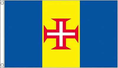 MADEIRA FLAG 5' x 3' Portugal Portuguese Island Europe Flags