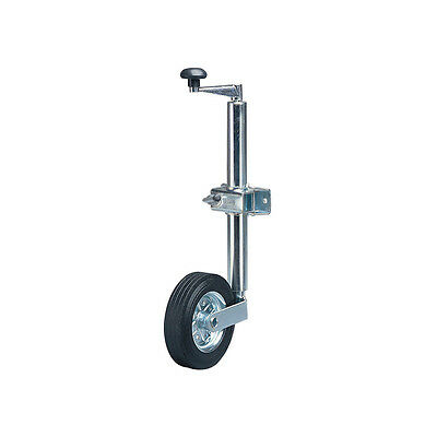 48mm Jockey Wheel for Caravans/Trailer/Boats and Horse Box with Clamp-160KG