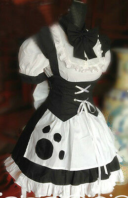 Gothic Lolita housemaid cat dress cosplay costume   Halloween