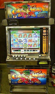 """Igt I-Game Coinless Video Slot Machine """"catch A Wave"""""""