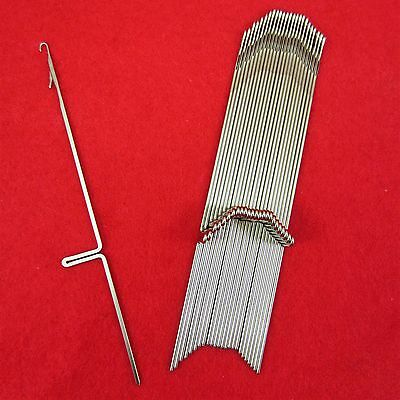 NEU 25 Nadeln für Brother Strickmaschinen KR587 - KR850 Knitting Machine Needles