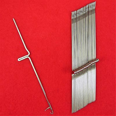 NEU 25 Nadeln für Brother Strickmaschinen KH552 - KH800 Knitting Machine Needles