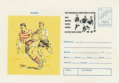 RWC 1999 RUGBY COMM COVER Group C - Fiji, Namibia, France, Canada 1 of a Set