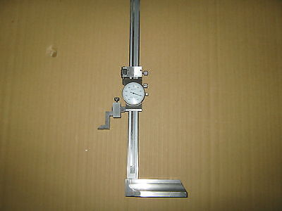 """0"""" - 12"""" Dial Height Gage Single Beam """"New"""""""