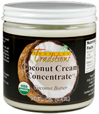 Organic Coconut Cream Concentrate - 1-Pint (16 oz) [263]