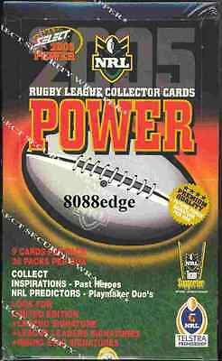 2005 Select Nrl Power Sealed Box-Signature! Only 3500 Made! Free Post+Promos Set