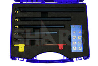 """SHARS .315"""" 3/8"""" 1/2"""" 5/8"""" 3/4"""" SCLCR Indexable Boring Bar Set NEW"""