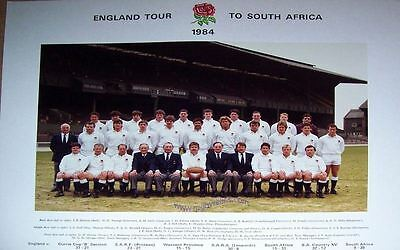 England Tour To South Africa 1984 Players Photograph