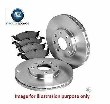8160 FRONT AND REAR BRAKE DISCS AND PADS FOR LEXUS IS220D 2.2D 1//2006