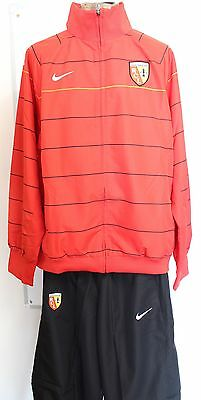 R C Lens Red/black Tracksuit By Nike Adults Size Large Brand New With Tags