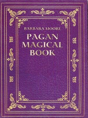 Pagan Magical Book New Color Pictures Wicca Magic Companion text for Pagan Tarot