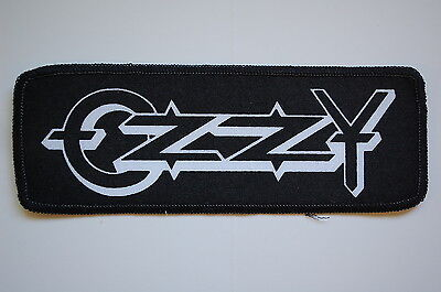 Ozzy Osbourne Sewn Rock Patch (SP1167) Black Sabbath Metal Dio Metallica