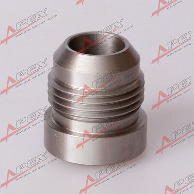 -8AN 8AN AN8 Male Mild Steel Weld On Fitting Bung