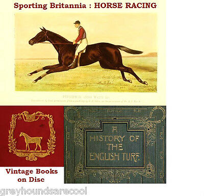 Horseracing 49 Vintage Books on Disc Racehorses Stud Book Breeding Training etc