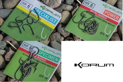Korum Xpert Hook Range - Complete Range of Hooks Available