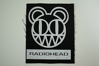 Radiohead Cloth Patch (CP195) Rock Oasis Verve Keane Brit Pop Pablo Honey Kid A