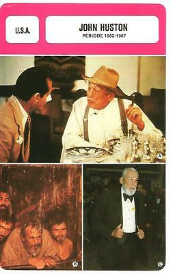 Fiche Cinema - John Huston