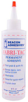 Beacon Adhesives Fabri-Tac Permanent Fabric Glue 8 oz
